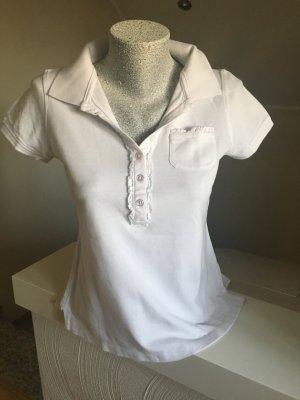 Shirt, Poloshirt der Marke Heine, Größe 38, weiß
