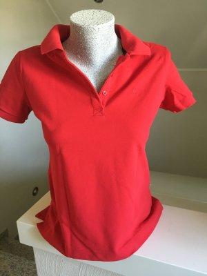 Shirt, Poloshirt, rot,Größe M