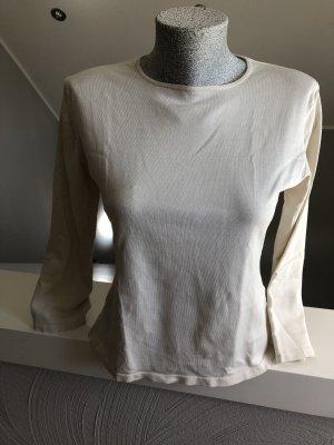 Public Camicia lunga crema-bianco sporco