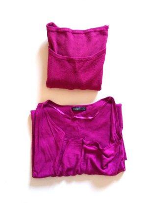 Shirt + Pullover Set Lila