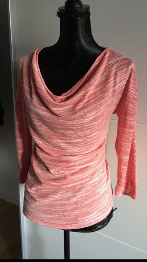 Shirt Pullover von Vero Moda mit Wasserfallausschnitt Gr. S One Shoulder