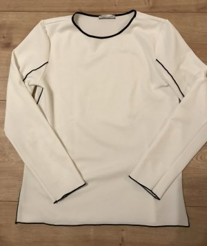 Shirt, pullover, Weiss, zara, Größe 36