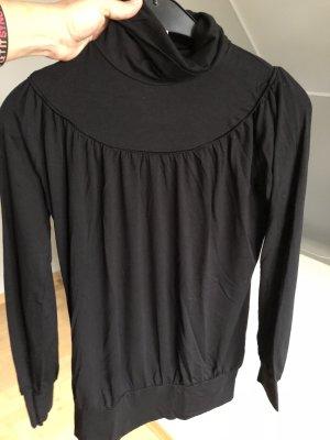 Shirt, Rollkragenshirt, schwarz