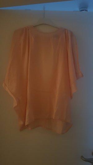 Shirt rückenfrei apricot Gr M/L