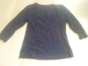 Shirt schwarz 3/4 Ärmel Gr. 40  Viskose