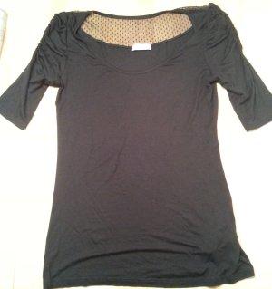 Shirt schwarz 3/4 Arm