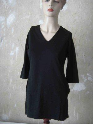 Shirt schwarz mit 3/4 Arm - casual Look