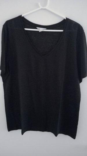 H&M T-shirt zwart