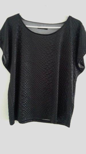 Shirt schwarz von Vila