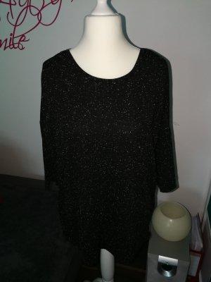 Shirt schwarz weiß meliert von der Marke Jacqueline de Yong in der Größe M