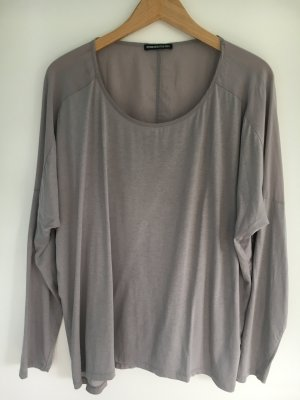 Drykorn Top extra-large gris clair