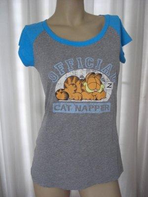 Shirt Sleepwear Garfield  used Look  Gr 36 / 38  Neuwertig