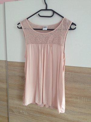 Shirt, Spitze, vero moda, rosa, nude