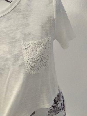 shirt spitze weiß