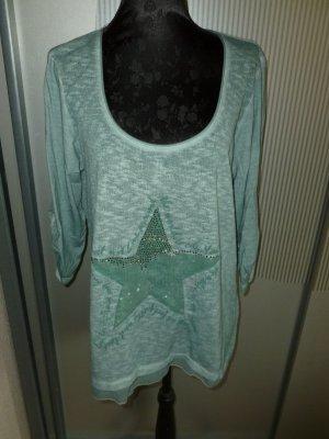 Shirt Stern türkis grün Tredy