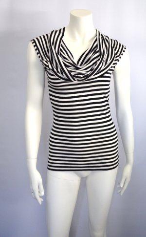 Shirt Streifen Black White XS