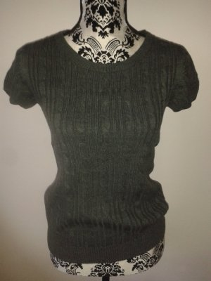 Shirt * Strick * grau * H&M * 36