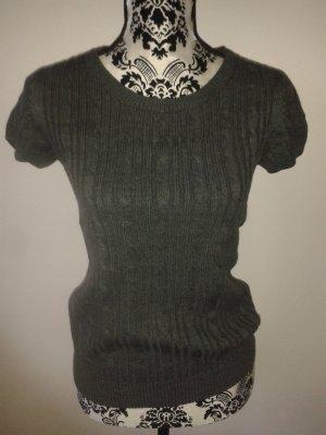 H&M Camicetta all'uncinetto grigio scuro