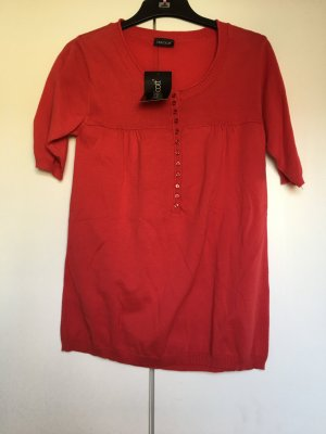 Shirt Strickshirt *Gr. 36/38* Rot *Laura Scott*