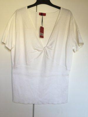 Shirt Strickshirt *Gr. 48/50* Weiß *Vivien Caron*