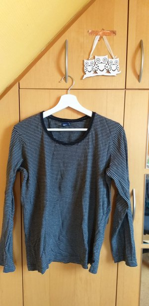 Cecil Stripe Shirt black-dark grey