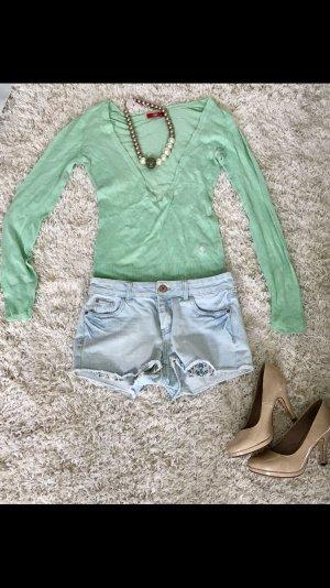 Shirt Sweater Oberteil hellgrün mint grün Esprit Sommer Sonne Strand Urlaub