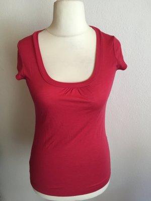 Shirt T-Shirt Basic leicht rot pink Gr. S
