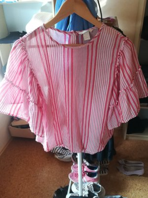 Shirt T-Shirt Bluse Volant