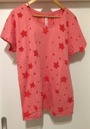 Shirt T-Shirt *Gr. 40/42* Rot mit Sternen *Sheego* NEU