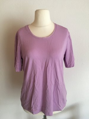 Shirt T-Shirt locker oversized flieder rosa Gr. 42