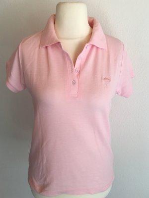 Shirt T-Shirt Polo-Shirt Basic rosa Flamingo Gr. S