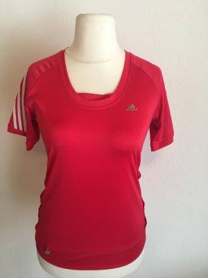 Shirt T-Shirt Sportshirt rot Adidas Gr. S Climalite