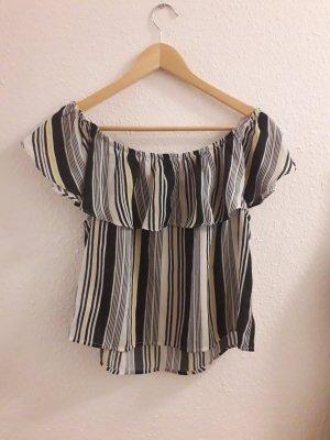 Shirt Tally Weijl Größe L gestreift Bluse