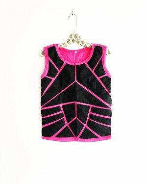 shirt / tank top / pink / vegan leather / vintage / t- shirt
