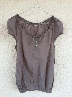 Shirt Taupe transparent