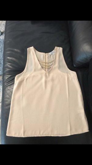 Zara Muscle Shirt nude