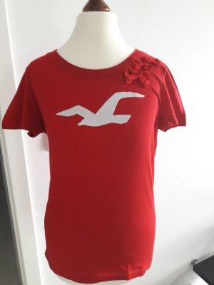 Shirt tolles Rot mit Schleifen ♡