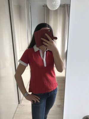 Tommy Hilfiger Polo shirt rood-wit