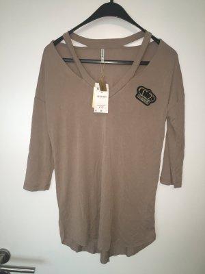 Shirt top Gr 38 M mit Perlen