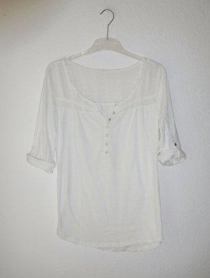 H&M Shirt Tunic white