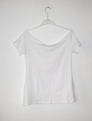 Shirt Top / H&M / 40 / vintage Basic Blogger NEU schulterfrei