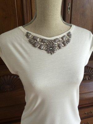 Shirt Top Hallhuber Donna Strass glamourös