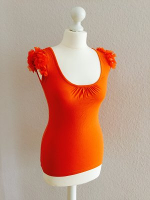 Shirt / Top in orange, Gr. 34