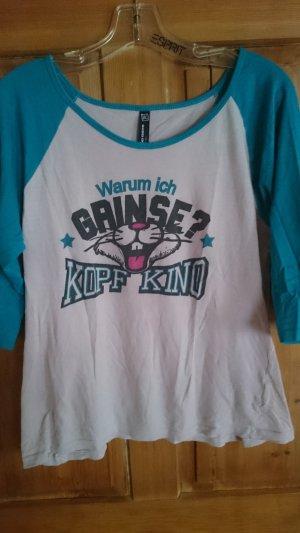 """Shirt Top mit Aufschrift """"Kopfkino"""""""