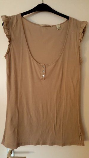 Maison Scotch Basic Top green grey