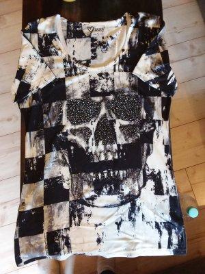 MIssy T-shirt bianco-nero