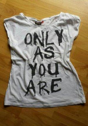 Shirt Tshirt Printshirt ONLY Größe S