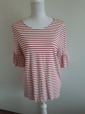 Shirt Tshirt Streifen Rüschen