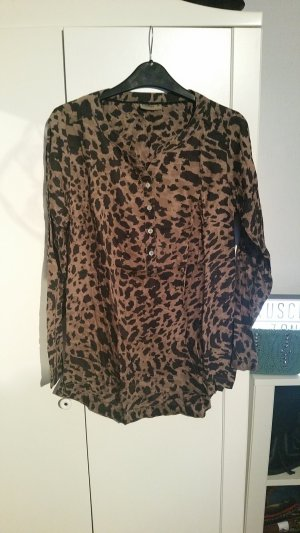 Shirt / Tunika Bluse Camouflage Leo