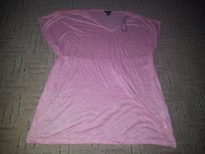 Shirt Tunika Strandtunika H&M apricot lachs Gr. L